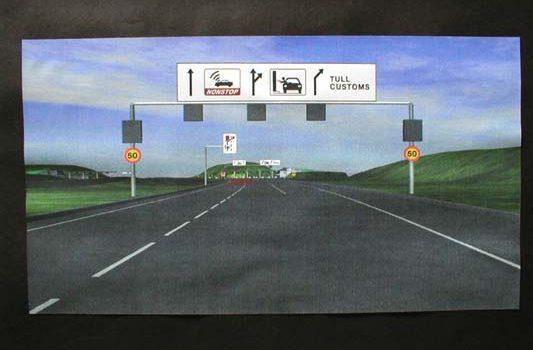 Øresund Link Drive-through Demonstration - User-centred Design Toll Booth Screen Tests