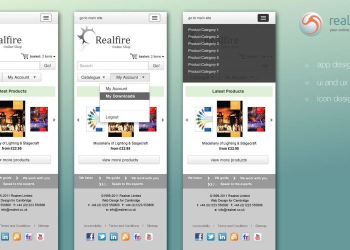 Real Commerce Mobile App UI UX Designs 01
