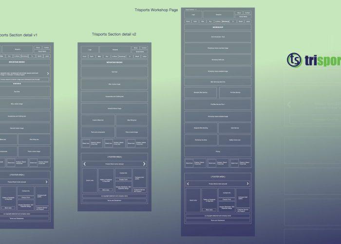 Trisports UX Design Flow And Content 02