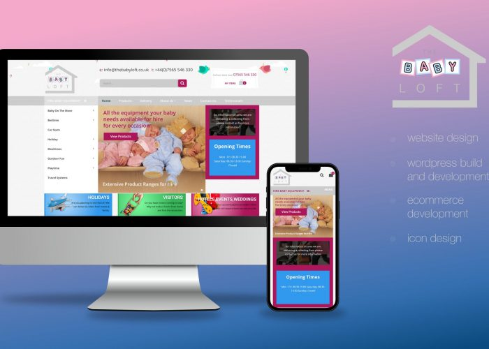 The Baby Loft Website Design And Wordpress Build Website