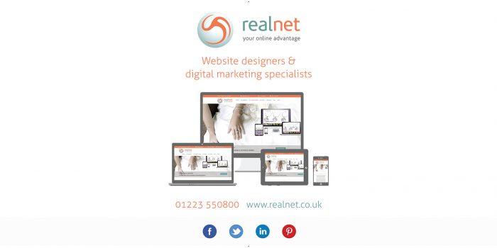 Realnet Exhibition Banner - Podium Artwork