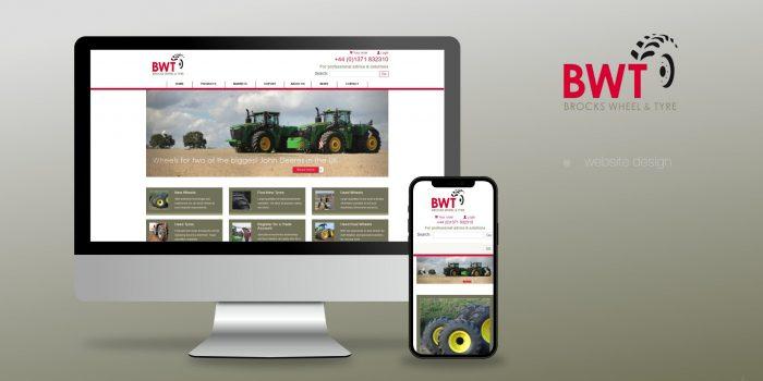 Brocks Wheel And Tyre Website Design