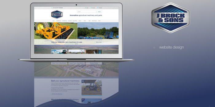J Brock And Sons Website Design