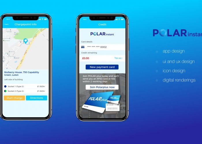 Polar Instant App Screen UI Designs