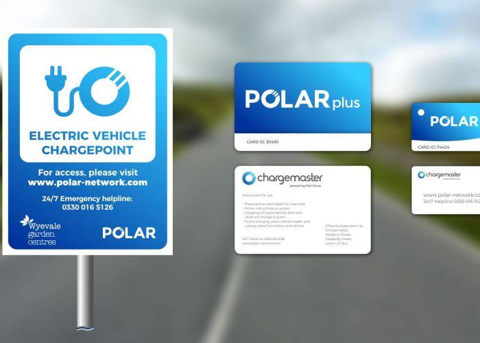 Chargemaster Signs And Charge Cards