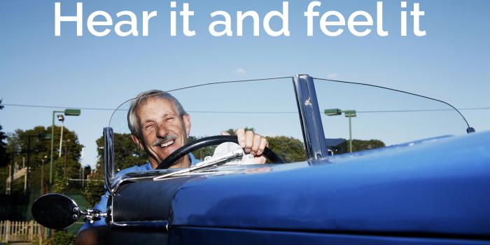 Hear It Feel It - Help My Hearing Facebook Advert