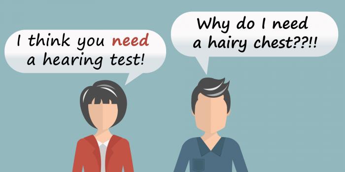 Need A Hearing Test Cartoon - Help My Hearing Facebook Advert