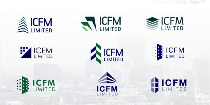 ICFM Brand Design - Design Stage Options