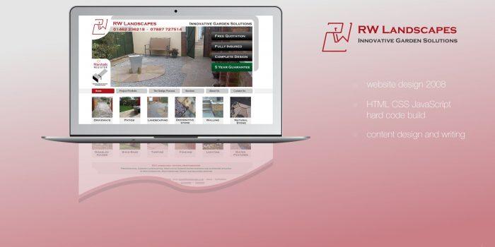 RW Landscapes Website Version 01 - 2007